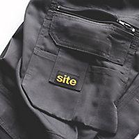 "Site Jackal Grey/Black Men's Trousers, W38"" L34"""