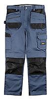"Site Jackal Grey/Black Men's Trousers, W40"" L34"""
