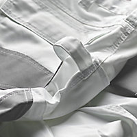 "Site Jackal White/Grey Men's Trousers, W34"" L32"""