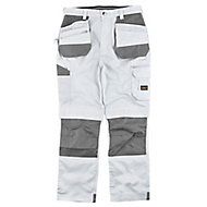 "Site Jackal White/Grey Men's Trousers, W40"" L32"""