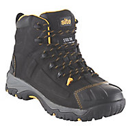 Site Fortress Men's Black Safety boots, Size 8