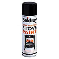 Beldray Black Matt Multi-surface Spray paint, 450ml