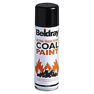 Beldray Black Matt Spray paint, 300ml