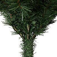 6.5ft Corner Artificial Christmas tree