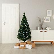 5ft Burst Fibre optic christmas tree