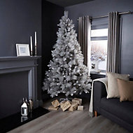 7ft Silver tipped Fir Artificial Christmas tree