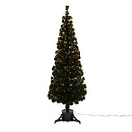 5ft Crystal tip Fibre optic christmas tree