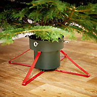 Metal & plastic 57cm Christmas tree stand