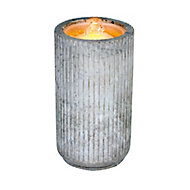 Outdoor Living UK Concrete style cylinder Water feature