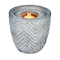 Outdoor Living UK Concrete style round Water feature