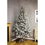 8ft Silver tipped Fir Artificial Christmas tree