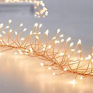 288 Warm white LED Garland Cluster string light