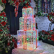 Multicolour LED Parcel Silhouette