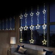 312 Warm white LED Star Curtain light