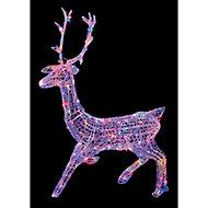 Multicolour LED Stag Silhouette