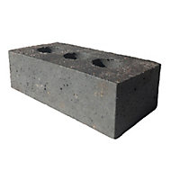 Wienerberger Smooth Blue Perforated Facing brick (L)215mm (W)102.5mm (H)65mm