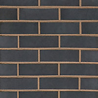 Wienerberger Smooth Blue Solid Facing brick (L)215mm (W)102.5mm (H)65mm