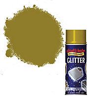 Plasti-kote Glitter Gold Glitter effect Spray paint 200 ml