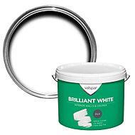 Valspar White Silk Emulsion paint 10L