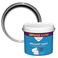 Valspar White Matt Emulsion paint 12L