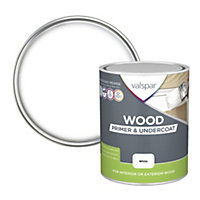 Valspar White Wood Primer & undercoat 0.75L