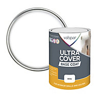 Valspar Ultra cover White Ceiling & wall Basecoat, 5L