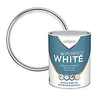 Valspar The perfect white Eggshell Metal & wood paint, 0.75L