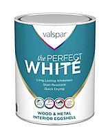 Valspar The perfect white Eggshell Paint 0.75L