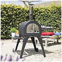 La Hacienda Milano Charcoal & wood Pizza oven