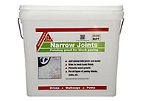 Sika Ready mixed Paving joint repair grout, 15kg Tub