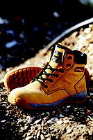DeWalt Honey Safety boots, Size 11