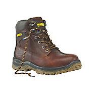 DeWalt Titanium Men's Tan Safety boots, Size 12