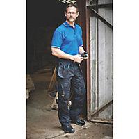 "DeWalt Pro Tradesman Black Men's Trousers, W34"" L29"""