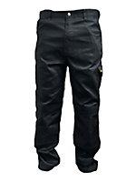 "DeWalt Workwear Grey Trousers, W34"" L31"""