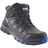 DeWalt Oxygen Black & blue Trainer boot, Size 8