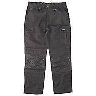 "DeWalt Ridgeley Black Trousers, W32"" L32"""