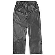 "DeWalt Black Waterproof Trousers W45.5"" L31.5"""