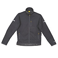 DeWalt Barton 3-Layer Tech Black Water-resistant Men's Jacket, Medium