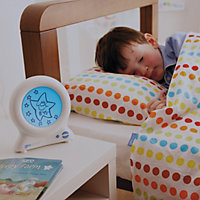 Gro-Clock Sleep trainer Children White Digital Alarm clock