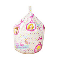 Disney Princess Bean bag, Multicolour