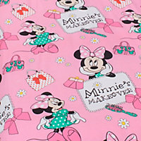 Disney Disney Minnie Mouse Minnie Mouse Pink Single Bedding set