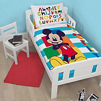 Disney Mickey Mouse Multicolour Junior Bedding set