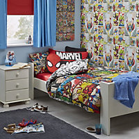 Marvel Defenders Multicolour Single Duvet set