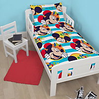 Disney Mickey Mouse Multicolour Junior Bundle bed set