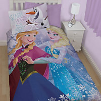 Disney Disney Frozen Frozen Purple Single Bedding set