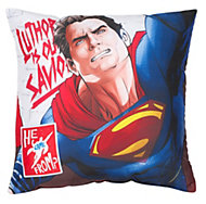 Batman v Superman Reversible Multicolour Cushion