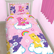 Care Bears Reversible Multicolour Single Bedding set