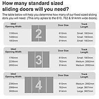 Shaker Natural Walnut effect Sliding wardrobe door (H)2220 mm (W)762mm