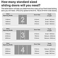 Spacepro Shaker Natural walnut effect Sliding door (H)2220mm (W)610mm