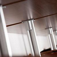 Relax Natural Walnut effect Shelf kit (L)900mm (D)500mm